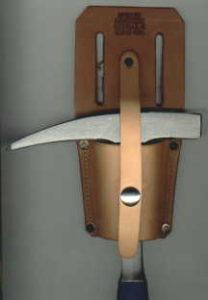 Photo of narrow rock hammer