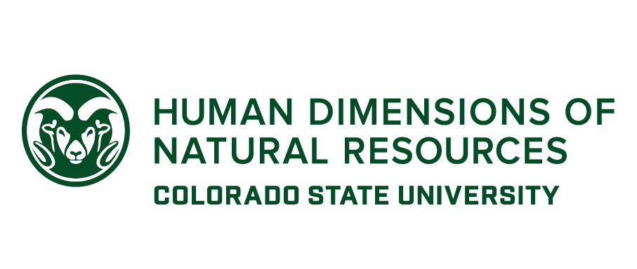 Department Of Human Dimensions Of Natural Resources Colorado State University