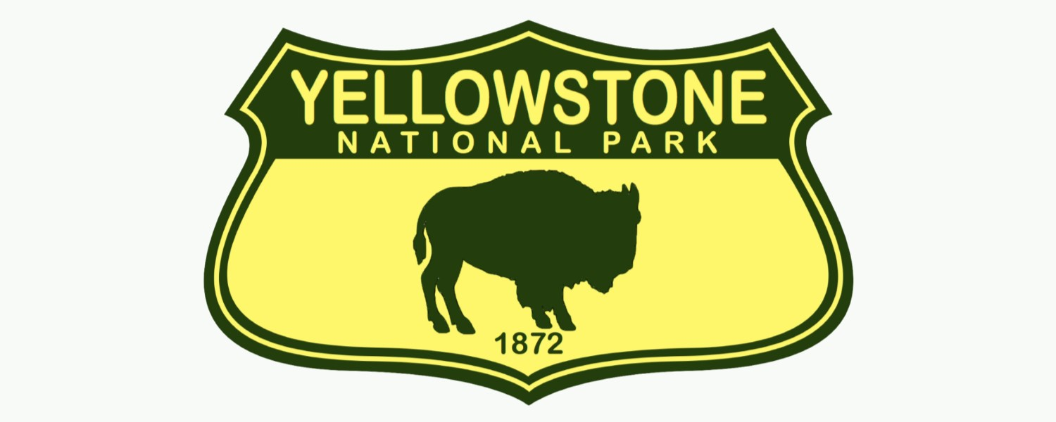 Yellowstone National Park shield logo
