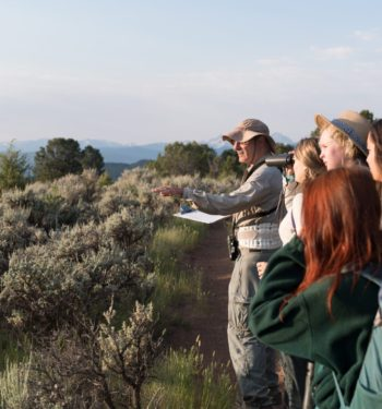 Colorado State University Students participate in a bioblitz in Spring Valley near Glenwood Springs, June 28, 2017.