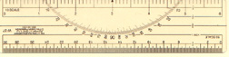 Photo of mapping ruler