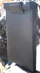 Photo of plastic waterproof clipboard