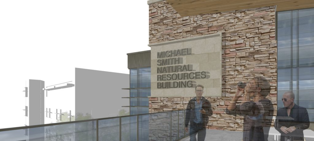Rendering of MSNRbuilding