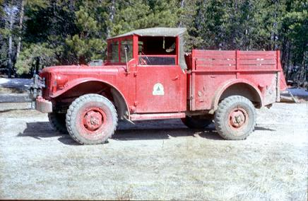 forest service truck