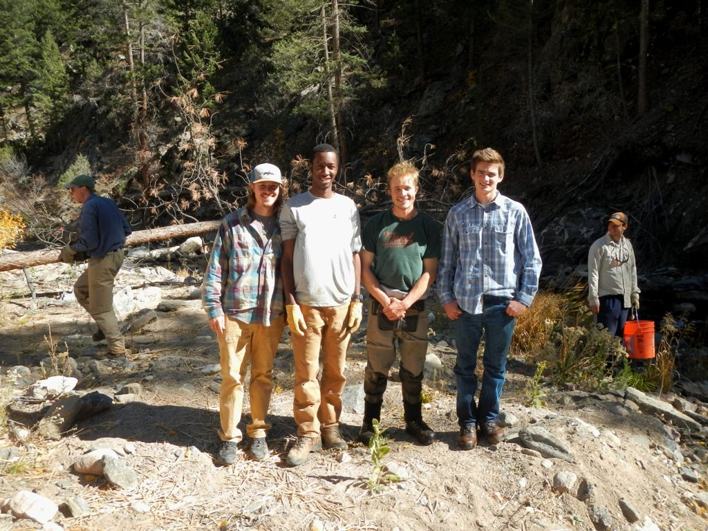 2016 Fly Fishing Club conservation project