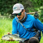 Largemouth Bass on a fly