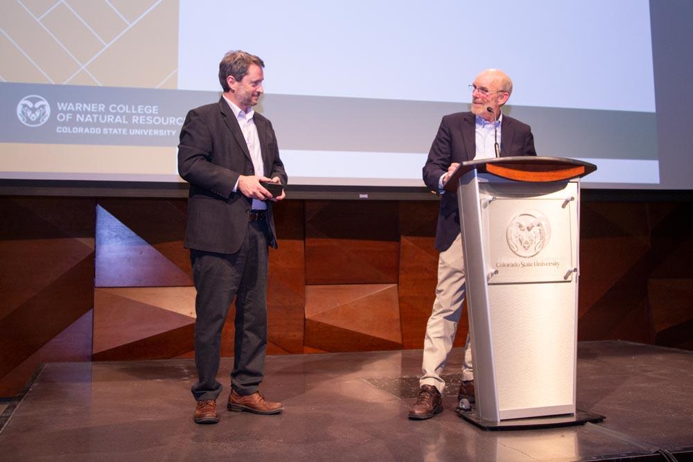 Restoration ecology professor receives award