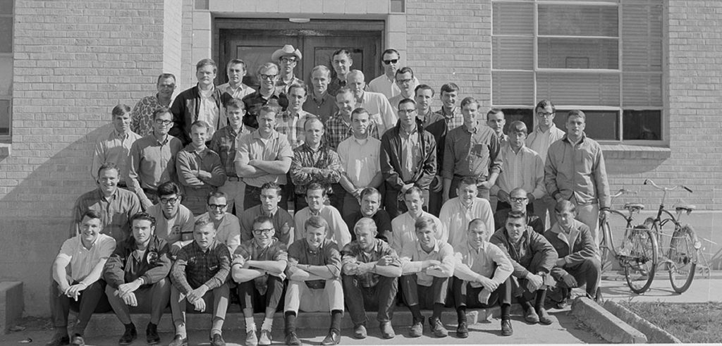 CSU forestry student group 1968