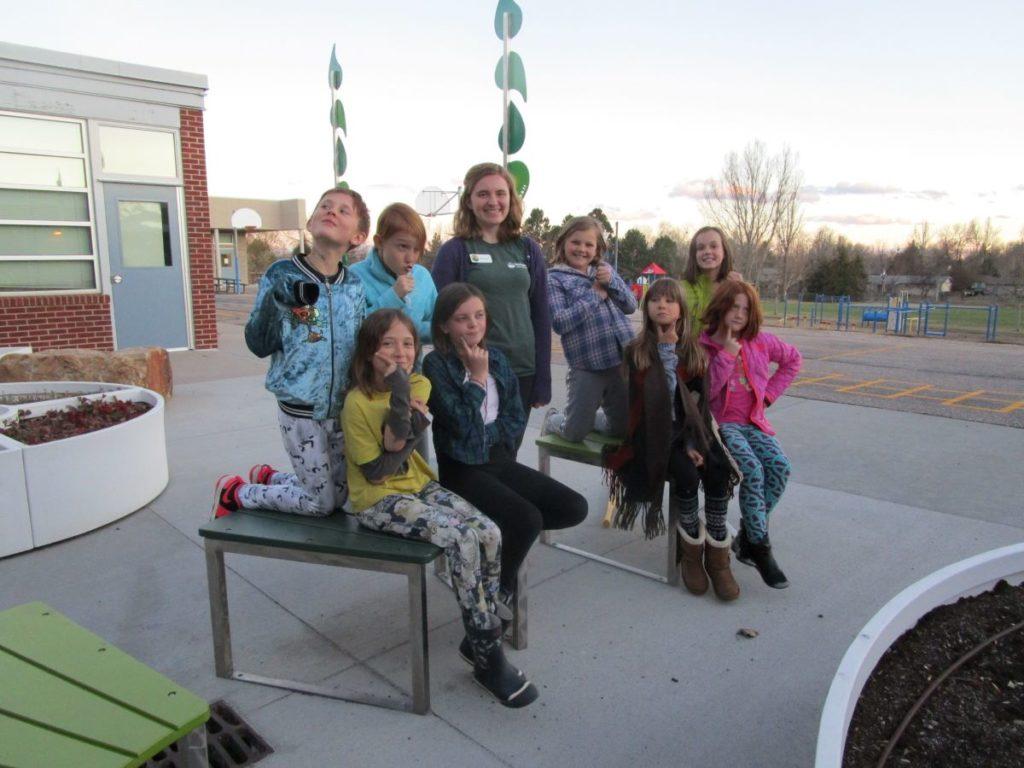 Students in the Girls Advancing Scientific Progress program