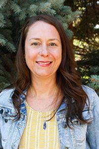 photo of geosciences advisor angela sharpe
