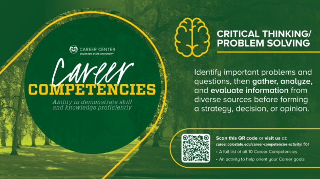 Career Competencies CritThinking LCD